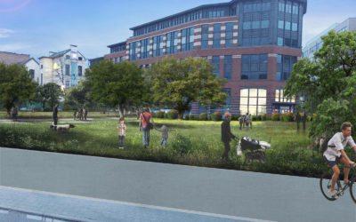 Les écologistes de Molenbeek veulent un parc à la Place Sainctelette
